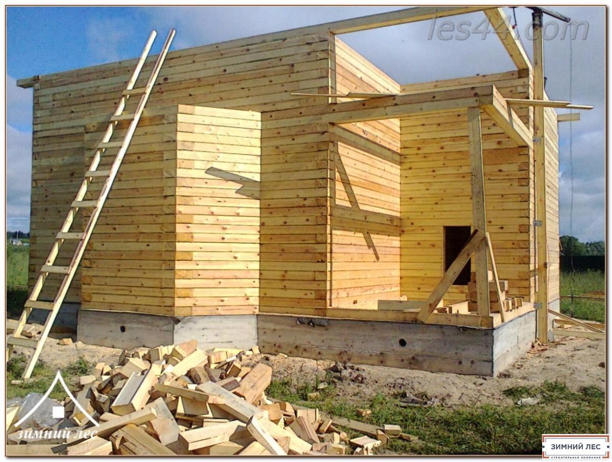 Строительство домов под ключ, цена в Минске