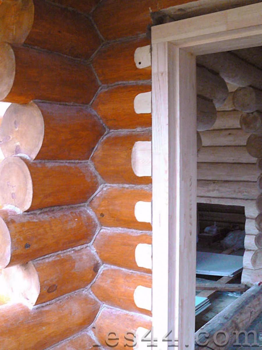 Окосячка окон в деревянном доме. Как сделать окосячку своими 45